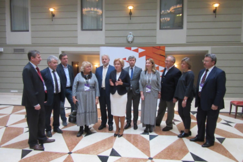 7й Санкт-Петербургский международный культурный форум - встреча с Ольгой Голодец и Владимиром Мединским