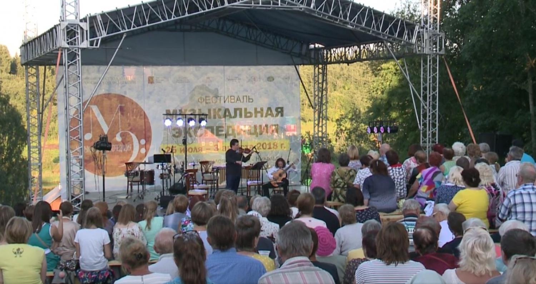 Музыкальная экспедиция в усадьбе Хвалёвское