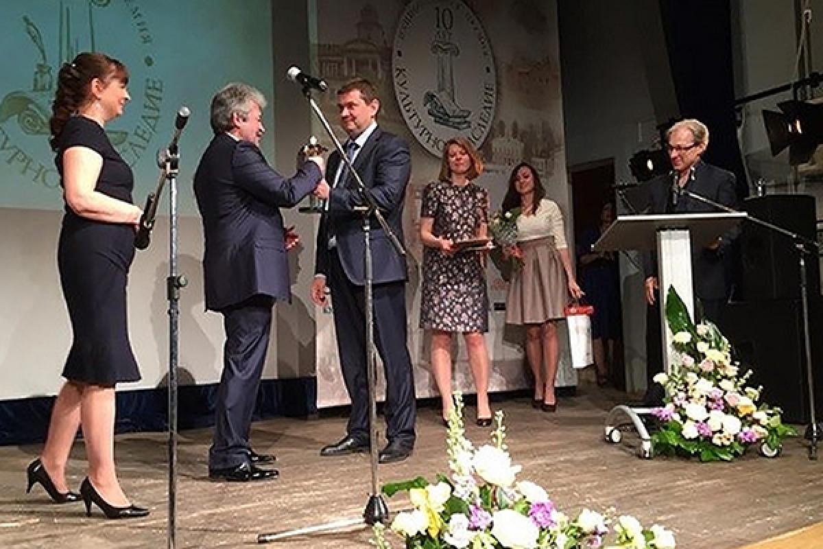 ЮБИЛЕЙНАЯ, 10-я национальная премия «Культурное наследие»